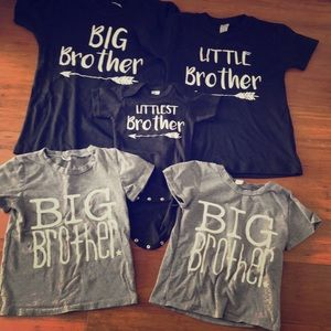 Lot of big brother shirts